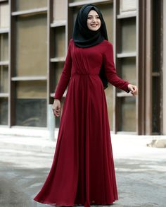 The Latest Maxi Dress Modest Dresses, Modest Outfits, Girls Dresses, Bridesmaid Dresses, Modest Clothing, Maxi Dresses, Hijab Evening Dress, Hijab Dress, Evening Dresses