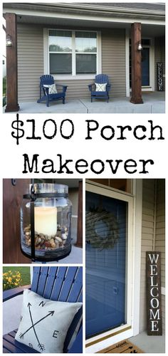 It's amazing what she did with only $100. Great ideas!