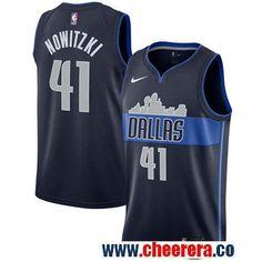 2a9af21d77e Men s Nike Mavericks  41 Dirk Nowitzki Navy Swingman Jersey. lily brown · NBA  Dallas Mavericks Jerseys