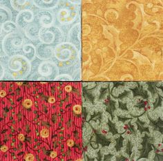 70 2.5 inch Fabric Quilting Squares  Precuts  by RedNeedleQuilts, $9.80
