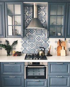 Living Room Kitchen, Home Decor Kitchen, Kitchen Interior, New Kitchen, Home Kitchens, Kitchen Paint, Kitchen White, Kitchen Small, Modern Interior