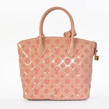 Louis Vuitton 2012 New Collection Monogram Vernis Calfskin Leather Lockit PM - Pink M40600   $229.00