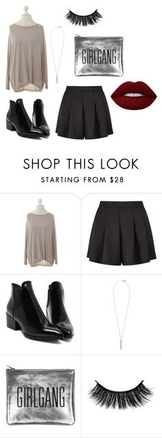 """""""Untitled #151"""" by sehba03 on Polyvore featuring Schumacher, Miss Selfridge, French Connection and Lime Crime"""