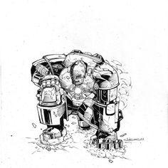 Iron Man Mk 1 armor