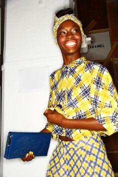Karen Walker brings african colors to the american girls #fashion  Dolce & Gabbana Leopard Necklace  http://DolceandGabbanaLeopardNecklace.gr8.com