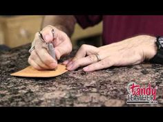 Learning Leathercraft with Jim Linnell – Lesson 2: Using A Swivel Knife » Leathercraft Library