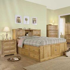 Symmetry Captain's Bed by Thornwood
