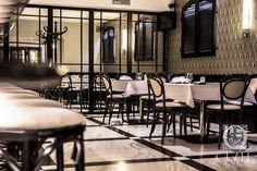 Restaurant Area at Quale Restaurant in Lodz, Poland
