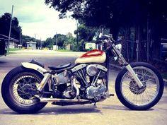 World's Best Harley-Davidson Custom Motorcycles - Custom Motorcycles & Classic Motorcycles - BikeGlam Harley Davidson Knucklehead, Harley Bobber, Harley Davidson Chopper, Bobber Motorcycle, Bobber Chopper, Harley Davidson Motorcycles, Custom Motorcycles, Motorcycle Garage, Custom Bikes