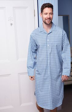 123421160b2e Bonsoir of London is one of the only manufactures of mens nightshirts. A  contemporary collection