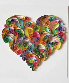 Neli Quilling, Paper Quilling Cards, Paper Quilling Tutorial, Quilling Work, Paper Quilling Patterns, Origami And Quilling, Quilled Paper Art, Quilling Paper Craft, Doily Patterns