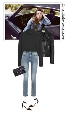 """""""Je ne regrette rien.."""" by mariotsala22 ❤ liked on Polyvore featuring IRO, James Perse, MiH Jeans and Victoria Beckham"""