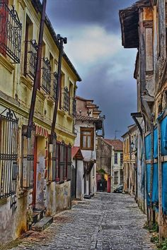 Xanthi, Thraki, Greece / Old City Greek Blue, Places In Greece, Into The West, Travel Abroad, Beautiful Buildings, Greece Travel, Wonderful Places, Architecture, Scenery