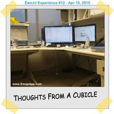Recently, I have come to realize that the biggest thing missing in my life is a job that inspires me to wake up in the morning and start my day. Share My Life, Cubicle, Corner Desk, Thoughts, Blog, Home Decor, Corner Table, Decoration Home, Room Decor