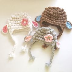 Little Lamb / baby sheep beanie / sheep hat by LovinglyNie on Etsy