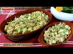 ENSALADA DE DOMINGO SALUDABLE, fácil y muy deliciosa Low Carb Recipes, Healthy Recipes, Deli, Granola, Guacamole, Risotto, Cucumber, Food And Drink, Mexican
