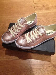 Converse rose gold. New shoes!!