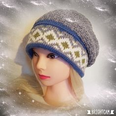 H hobbyside: Lothepus lue Beanies, Crochet Hats, Diy, Fashion, Knitting Hats, Moda, Beanie Hats, Bricolage, Fashion Styles