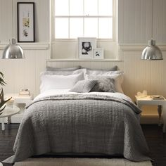 Bedroom by The White Company, London.