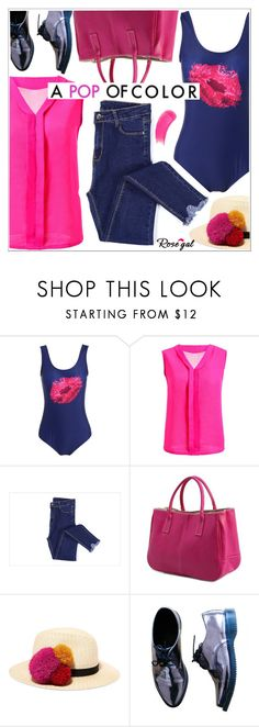 """""""Rosegal"""" by teoecar ❤ liked on Polyvore featuring Eugenia Kim, Dr. Martens, Dsquared2 and Sisley"""