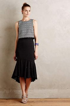 Flared Lace Midi Skirt - anthropologie.com 2015 out