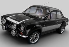 Escort MK1 RS2000 :: Wow, what a rally setup