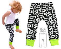 Leggings Pattern Harem Pants Pattern by MyChildhoodTreasures Baby Leggings Pattern, Pants Pattern Free, Harem Pants Pattern, Baby Harem Pants, Toddler Pants, Toddler Leggings, Toddler Dress, Free Pattern, Jumper Pants