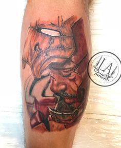 Iron man tattoo