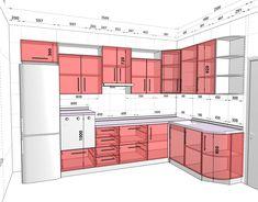 Bếp home design trends 2017 - Home Trends Kitchen Room Design, Best Kitchen Designs, Modern Kitchen Design, Home Decor Kitchen, Interior Design Kitchen, Pantry Design, Kitchen Cabinet Design, Kitchen Cabinet Dimensions, Installing Kitchen Cabinets