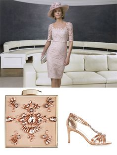 John Charles mother of the bride dress