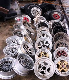 Some of the arrivals Tuner Cars, Jdm Cars, Jdm Wheels, Racing Wheel, Retro Cars, Alloy Wheel, Car Photos, Toyota Supra, Project Ideas