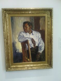 Portrait of Paul Robeson at MFA St.Petersburg