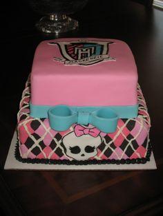 Monster High Cake By malden on CakeCentral.com