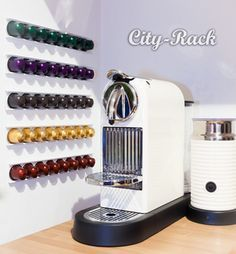 love this rack for nespresso capsules :-D
