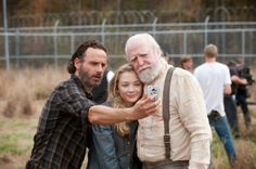 The walking dead, behind the scenes.