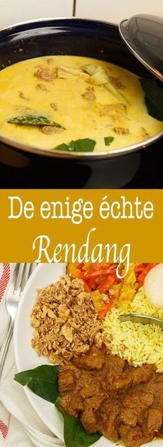 Rendang – Food And Drink Slow Cooker Recipes, Beef Recipes, Cooking Recipes, Healthy Recipes, Indian Food Recipes, Asian Recipes, Malay Food, Food Porn, Diner Recipes