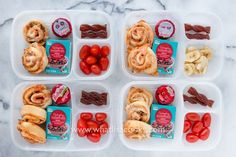 Pizza rolls from the freezer make an easy Monday lunch.