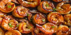 & Healthy Dinner: 20 Minute Honey Garlic Shrimp Easy, healthy, and on the table in about 20 minutes! Honey garlic shrimp recipe on Easy, healthy, and on the table in about 20 minutes! Honey garlic shrimp recipe on Shrimp Recipes For Dinner, Shrimp Recipes Easy, Garlic Recipes, Fish Recipes, Seafood Recipes, Cooking Recipes, Healthy Recipes, Honey Recipes, Simply Recipes