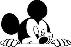 Peeping Backseat Mickey by OriginalGraffix on Etsy