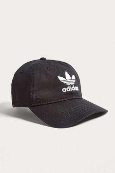 8ccaad752ec adidas Trefoil Black Dad Cap Black Dad