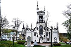 John's Anglican Church: Lunenburg, Canada Lunenburg Nova Scotia, Lunenburg Canada, Beautiful Sites, Beautiful Things, Anglican Church, Atlantic Canada, Church Architecture, Prince Edward Island, New Brunswick