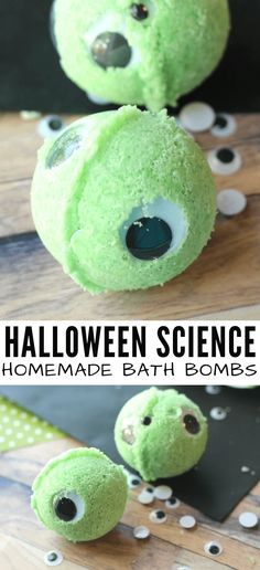 Find out how to make this easy homemade bath bombs for kids. Halloween bath bombs are a fun smple science activity you can do at home or in the classroom. Halloween Science, Halloween Eyeballs, Halloween Activities For Kids, Science Activities For Kids, Halloween Kids, Free Activities, Science Experiments, Easy Science, Homemade Halloween