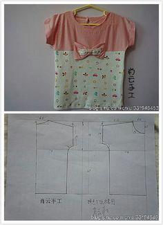 Easy top Little Girl Dresses, Little Girls, Girls Dresses, 4 Kids, Children, Kaftan, Stencil, Kids Outfits, Sewing Patterns