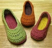 free crochet slipper patterns - Bing Images