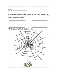 Seven Great Activities for Charlotte's Web