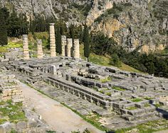 Temple of Apollo  Temple built on the remains of an earlier temple around 330 B.C. by Spintharos, Xendoros, and Agathon  Source: http://vincentloy.wordpress.com/2011/01/20/seven-wonders-of-ancient-greece/#