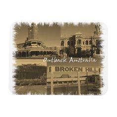 Broken hill, montage magnet
