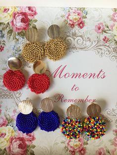 17 Outstanding Styles To Wear Beaded Tassel Earrings Jewelry Design Earrings, Diy Jewelry, Jewelry Gifts, Beaded Jewelry, Jewelery, Jewelry Making, Beaded Tassel Earrings, Pearl Stud Earrings, Beaded Earrings
