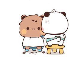 Cute Cartoon Pictures, Cute Love Cartoons, Cute Images, Cute Couple Comics, Cute Bear Drawings, Cute Sketches, Cute Chickens, Cute Love Stories, Cute Words