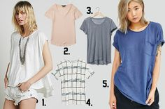 What's Hot: Linen Blend T-shirts - Fearless Fashionista Las Vegas